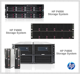 HP LeftHand P4000 series Storage System