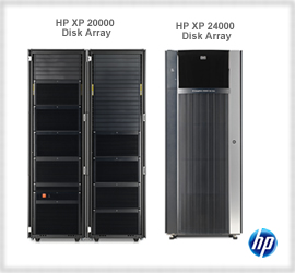 Click here for more HP XP Storage Disk Arrays