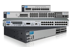 Click here for more HP ProCurve managed Switches