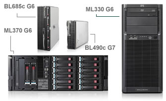 Click here for more details on HP ProLiant servers and ProLiant server blades